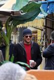 Wentworth Miller at the Marche aux Puces of Clignancourt, in Paris (March 17)