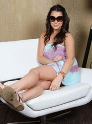 Алекса Вега, фото 39. Alexa Vega visits the Gifting Services Showroom in West Hollywood - June 21, 2011, photo 39