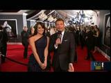 Lea Michele 52nd Grammy Awards Red carpet E! Entertainment 31.Jan.2010
