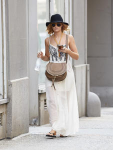 Beth Behrs - Out and about in NYC - 6/23/14