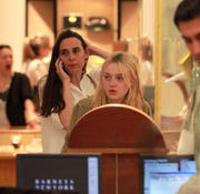 *ADDS* Dakota Fanning Shops at Barneys New York in Manhattan 06/14/11- 24 HQ