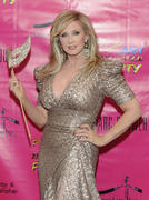 Morgan Fairchild - Pop Art Halloween party in NYC 10/29/11