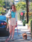 Mischa Barton - Walking Her Dog in LA  21Mar12