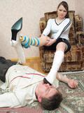 Фетиш женской обуви.
