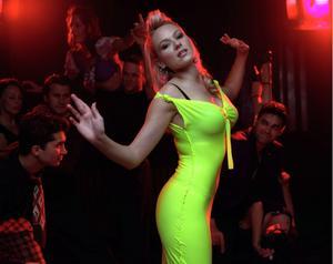 Jewel Kilcher hot in super tight green dress album photoshoot